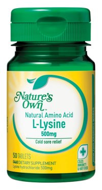 Nature's Own L-Lysine Tablets - 50